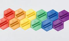 Cardboard Heroes - Rainbow Bases