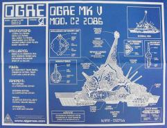 Ogre Blueprint Poster