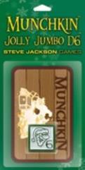 Munchkin Jolly Jumbo D6 - Green