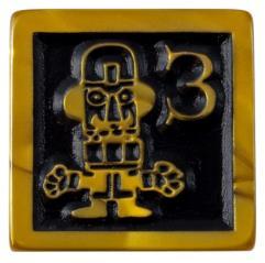 Munchkin Jolly Jumbo D6 - Gold Pearl