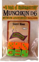 +6 Bag o' Radioactive Munchkin d6 (6)