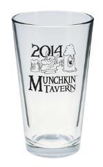 2014 Munchkin Tavern Pint Glass