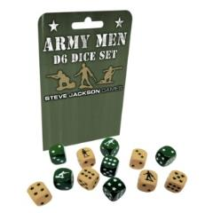 Army Men d6 Dice Set