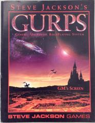 GURPS GM Screen (3rd Edition)