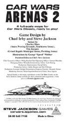 Car Wars Classic Arenas 2