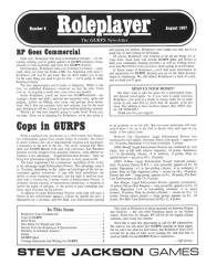 "#6 ""Cops in GURPS, New Rules for Wealth and Jobs"""
