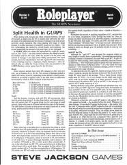 "#9 ""Split Health in GURPS, Lasers in Autoduel"""