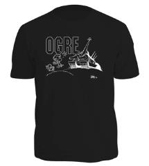 Black Kovalic Cartoon Ogre T-Shirt (XL)
