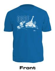Blue Kovalic Cartoon Ogre T-Shirt (3XL)