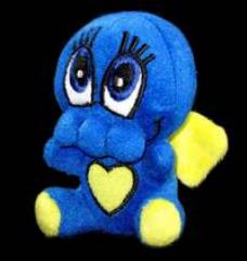 Mini-Chibithulhu Plush - Blue