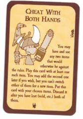 Munchkin - Cheat with Both Hands