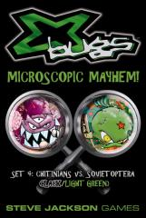 X Bugs Set #4 - Chitinians vs. Sovietoptera (Black/Light Green)