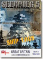 Ship Logs Software - Great Britain 1920-1945