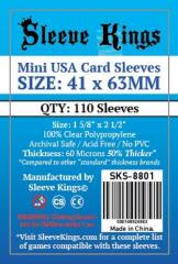 41x63mm - Mini USA Card Sleeves (110)