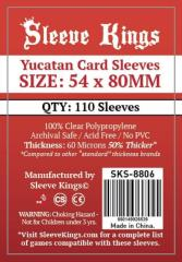 54x80mm - Yucatan Card Sleeves (110)