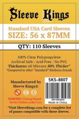 56x87mm - Standard USA Card Sleeves (110)
