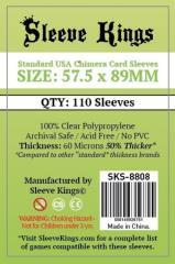 57.5x89mm - Standard USA Chimera Card Sleeves (110)