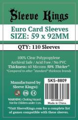 59x92mm - EURO Card Sleeves (110)