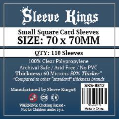 70x70mm - Small Square Card Sleeves (110)
