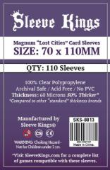 70x110mm - Magnum Lost Card Sleeves (110)