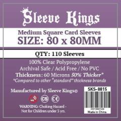 80x80mm - Medium Square Card Sleeves (110)
