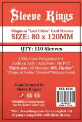 80x120mm - Magnum Lost Cities Card Sleeves (110)