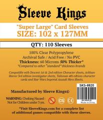 102x127mm - Super Large Card Sleeves (110)