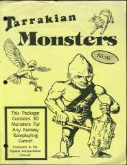 Fantasy Monsters - Tarrakian Monsters