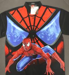 Spider-Man 'Evil Eyes' Button Up Shirt (M)