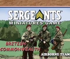 Commonwealth Parachute - Airborne Team