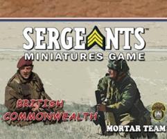 Commonwealth Parachute - Mortar Team