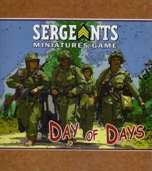 Sergeants Miniatures Game - Day of Days (3rd Printing)