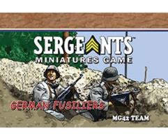 Fusiliers - MG42 LMG Team