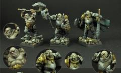 Barbarian Veterans Set #1