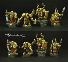Dwarf Lords Set #4
