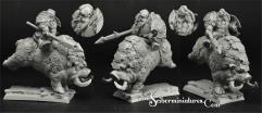 Dwarf Lord Jabraem on War Boar
