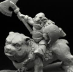 Goblin Chief on Dog
