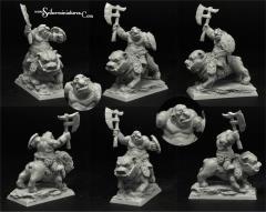 Goblin Warrior on Dog #2