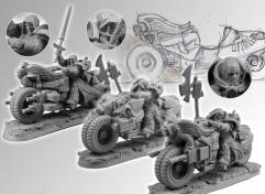 Angel Knight Motorcycle Set