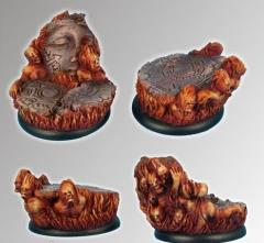 Straight From Hell - 40mm Round Edge Bases