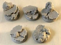 Royal Lion Ruins - 30mm Round Edge Base #2