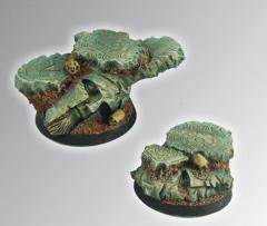 Spartan Ruins - 40mm Round Bases #1