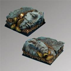 Ancient Ruins - 40mm Square Bases