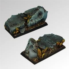Ancient Ruins - 25x50mm Square Bases