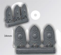 Egyptian Shields - Big