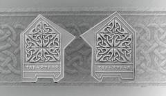 Celtic Decorated Plates #3