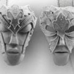 Elven Masks (1st Edition)