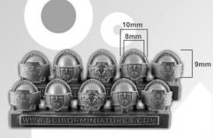 Sci-Fi Roman Shoulder Pads - Small