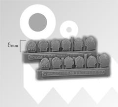 Decorated Shields - Small