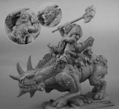 War Rhino Rider
